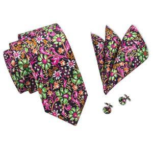 Floral Tie Set